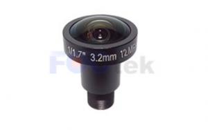 12MP M12 マウント単焦点レンズ