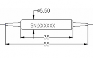1064nm PM Band Pass Filter
