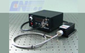 Fiber Coupled Laser System at 457 nm