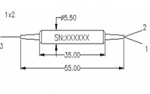 PM Filter Coupler Module 1 x 2